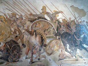 Dariusz III w bitwie pod Issus