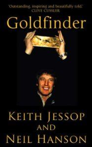 Okładka książki Goldfinger relacjonującej poszukiwania złota z HMS Edinburgh