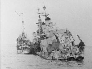 HMS Edinburgh przed zatopieniem