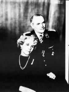 Kurt von Behr z żoną Johanną