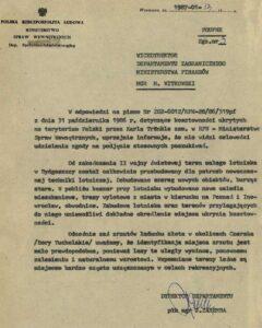 Informacja Ministerstwa Spraw Wewnętrznych na temat dalszych działań związanych ze sprawą złota z Bydgoszczy