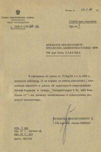 Informacja dotycząca wiarygodności Alfreda Rogascha